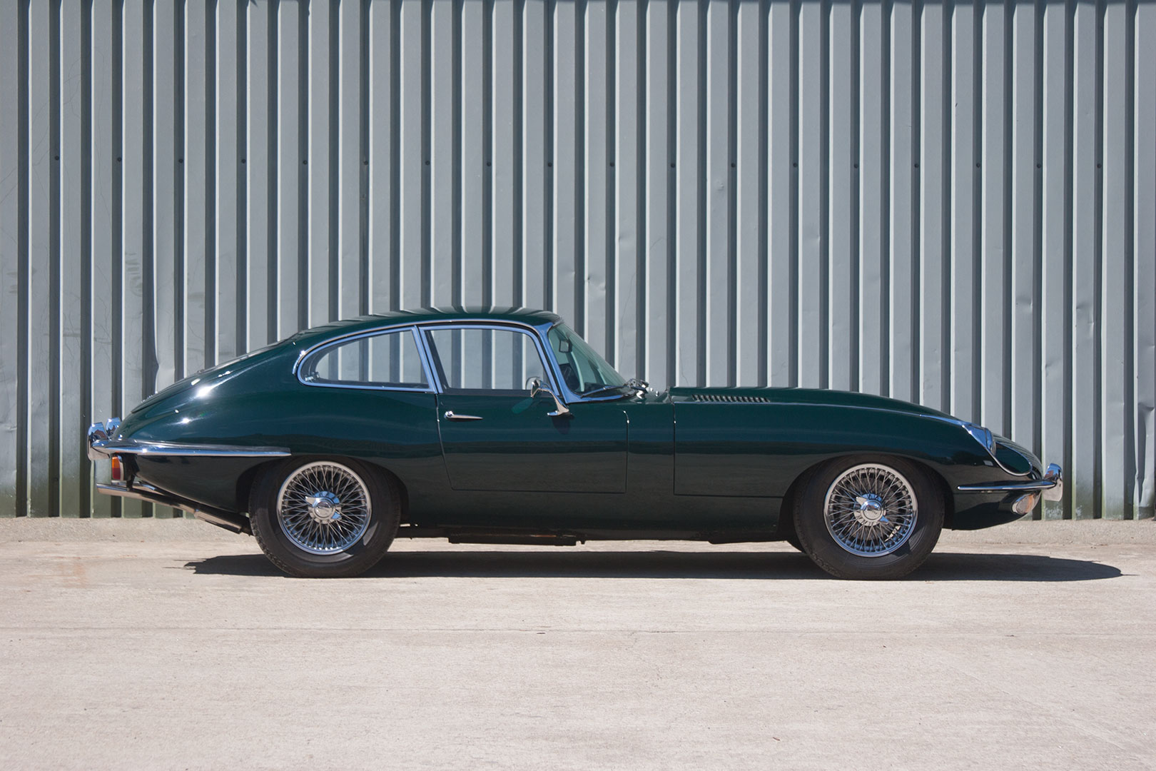 jaguar e type series 2 coupe 1969 70 4 2l jersey classic and vintage car sales. Black Bedroom Furniture Sets. Home Design Ideas