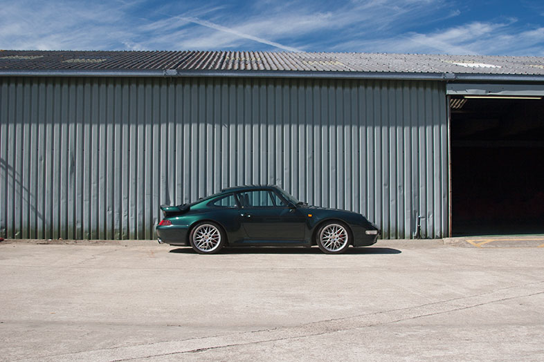 993 Turbo in Forest Green