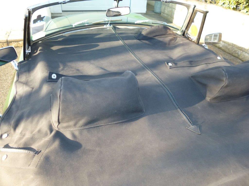 MGB Roadster full tonneau cover