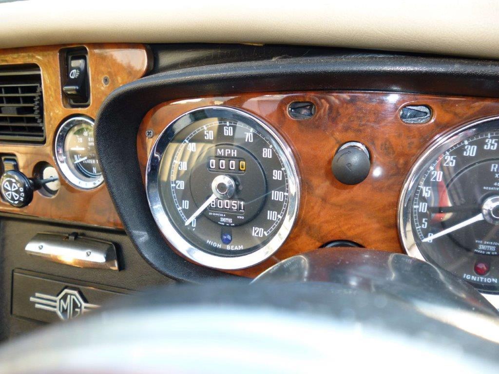 MGB Roadster Clocks
